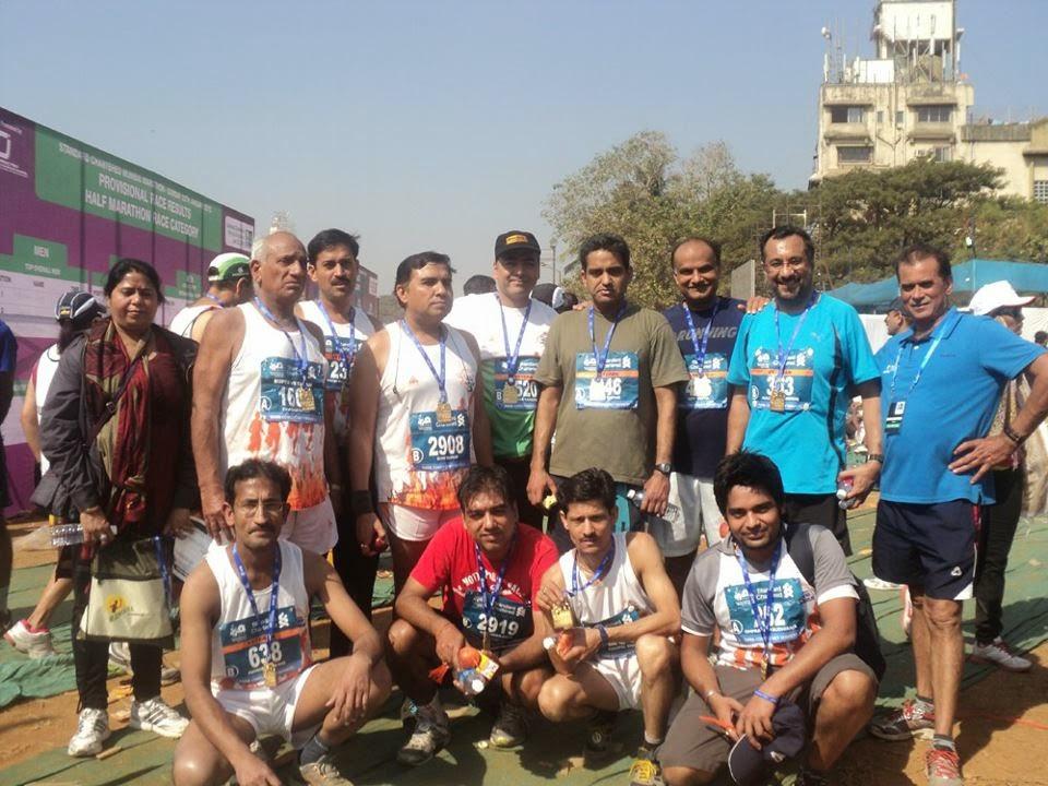 yamuna marathon club mumbai tour