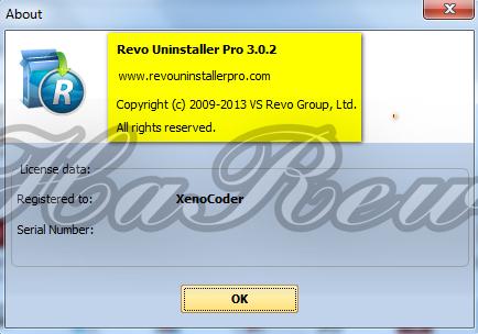 Revo Uninstaller Pro 3 Serial Key