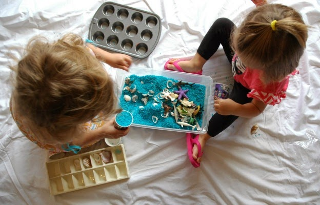 Relax During Messy Play