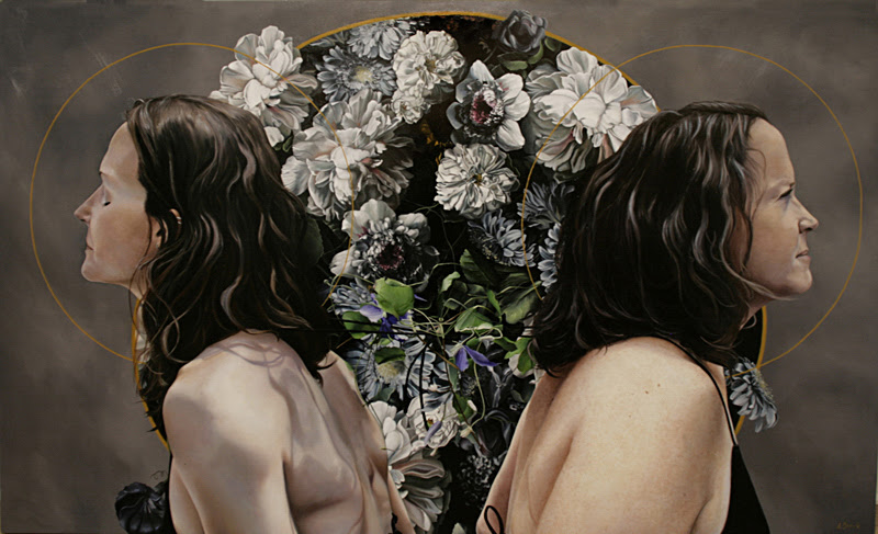 Paintings by Amanda Greive from America.
