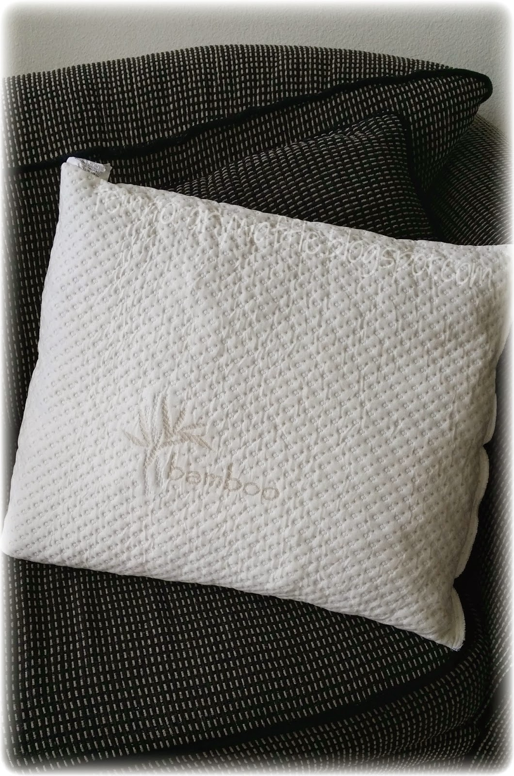 Temporary Waffle Xtreme Comforts Shredded Memory Foam Pillow