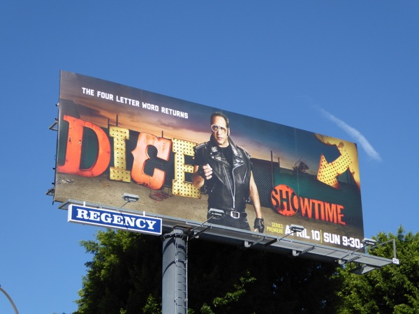 Dice series premiere billboard