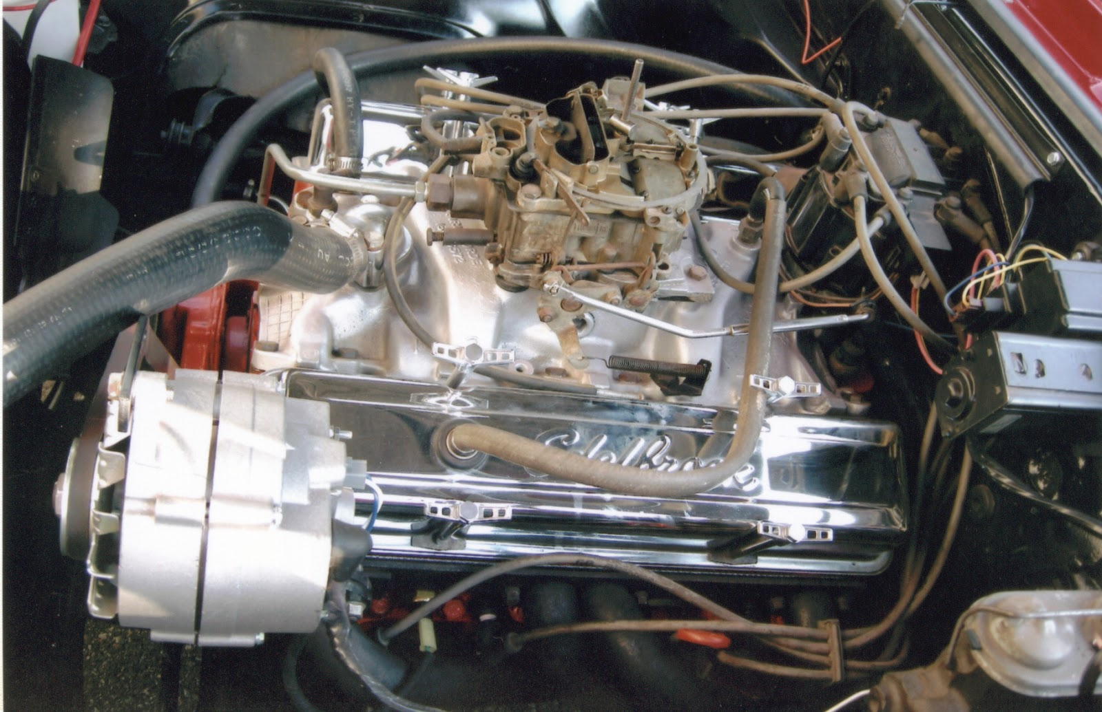 medium resolution of wiring diagram for chevy small block 327 wiring librarythe original ep code 327 was still there