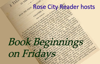 Book Beginnings on Fridays badge