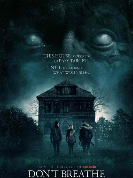 Dont Breathe 2016 480p BluRay 300MB Poster