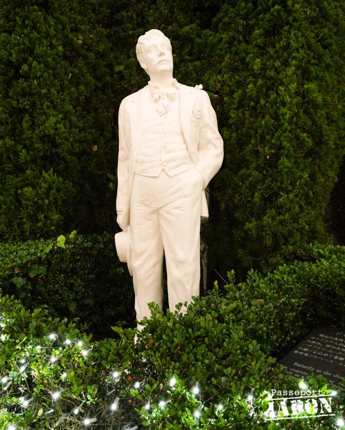 Statue de Thomas Blake Glover, Glover Garden, Nagasaki