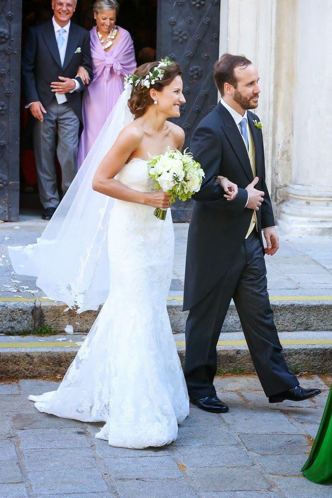 The Wedding Of Juan Zorreguieta And Andrea Wolf