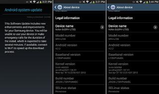 Samsung System Update