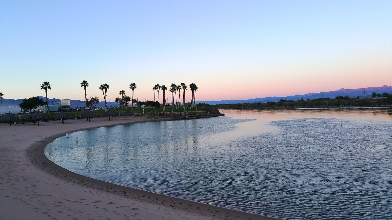 Colorado River At Sunset By The Avi Resort