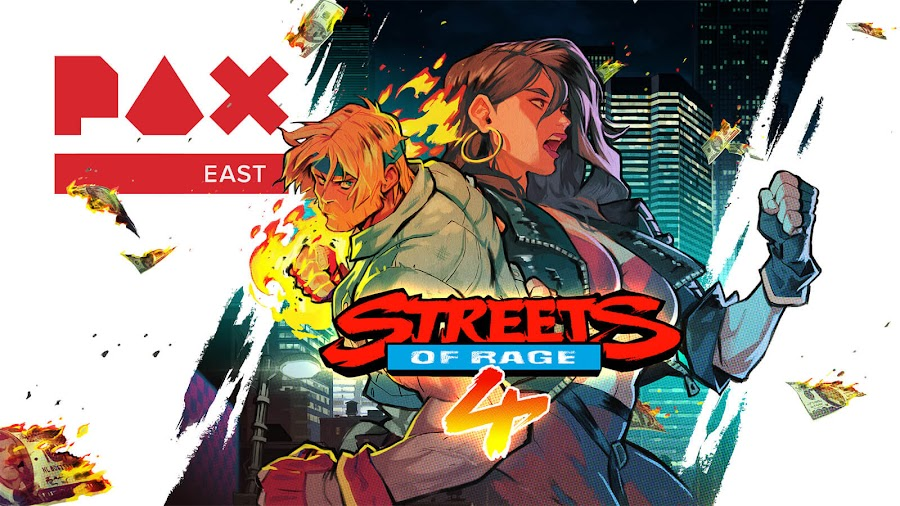 streets of rage 4 gameplay teaser dotemu pax east 2019