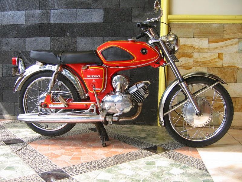 38 Modifikasi Motor A100 Inspirasi Terpopuler
