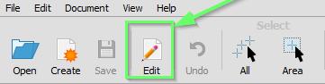 Icono Edit