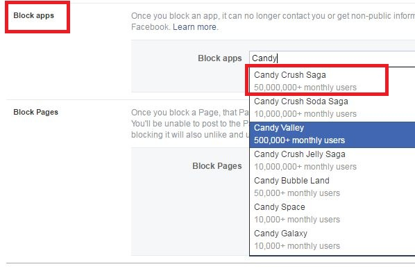 How To Block App And Game Invites On Facebook5