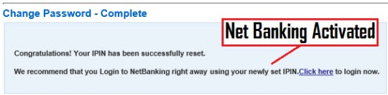 how to activate netbanking in hdfc online