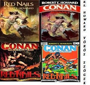 Robert E. Howard Vörös szögek Conan történet