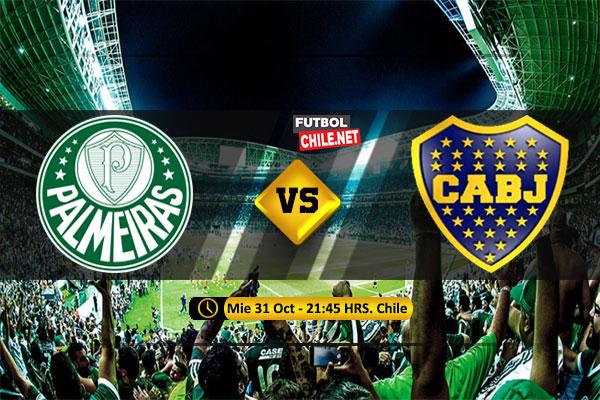 Mira Palmeiras vs Boca Juniors en vivo y online por la semifinal vuelta de la Copa Libertadores