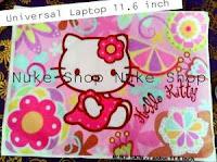 Stiker, skotlet atau garskin skin  Laptop 11.6 Inch Hellokitty