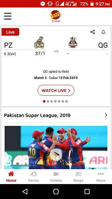 PSL 4 - Peshawar Zalmi Vs Quetta Gladiators Live Match