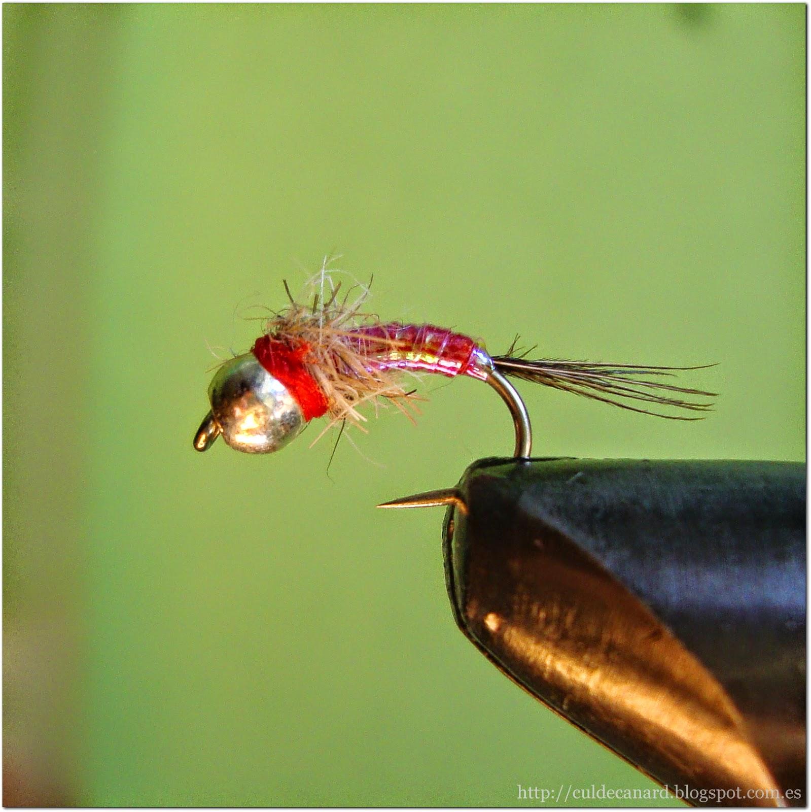 Rainbow Warrior Midge: Fly Fishing Blog: Ninfas Atractoras