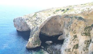 Gruta Azul o Blue Grotto, Malta.
