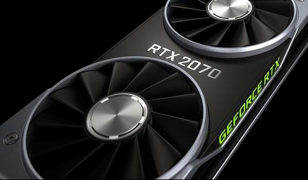 تسريبات عن معالج رسوميات NVIDIA RTX 2070