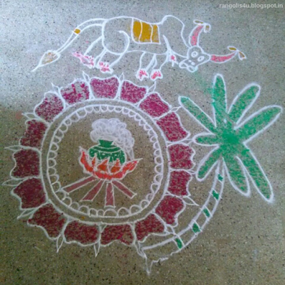 Rangolis for Tamil Festivals