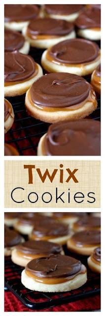 Twix Cookies Recipe