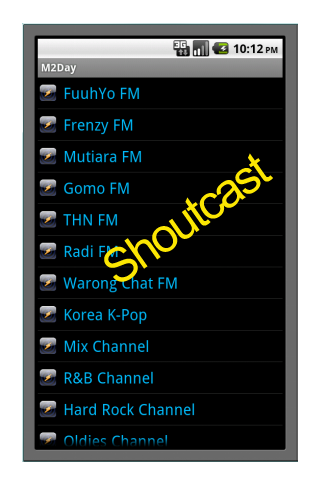 Malaysia Shoutcast and Radio Channel on Android - Android