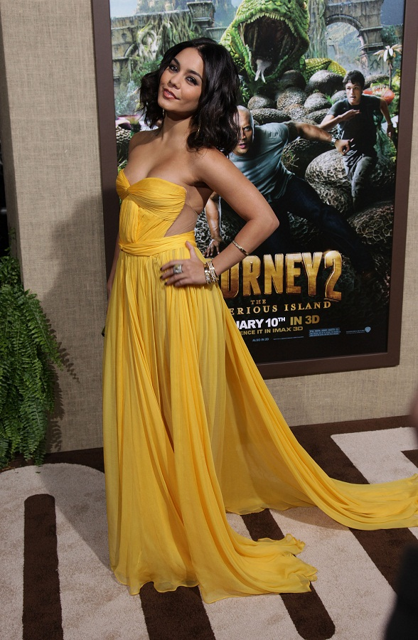 Vanessa Hudgens at Los Angeles premiere of Journey 2: The Mysterious Island
