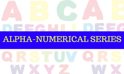 ALPHA-NUMERICAL SERIES