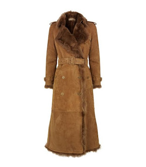 Harrods --Shop Burberry Shearling Kate wore in Sweden