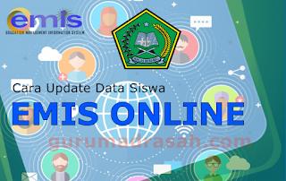 Cara Update Data Siswa di EMIS Online
