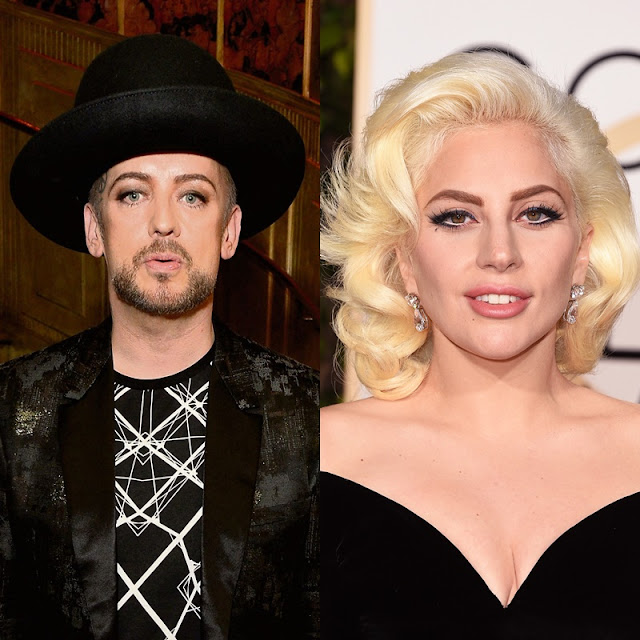 Boy George lanza indirecta a Lady Gaga.