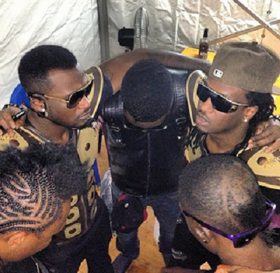 psquare praying congo concert