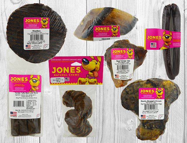 Jones Natural Chews for dogs
