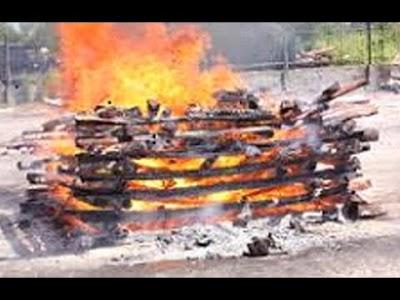 बलिका की मौत परिजनो ने किया गुपचुप दह संस्कार