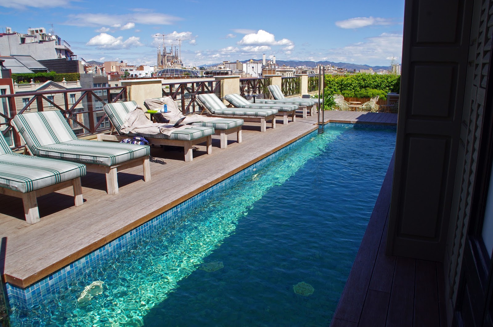 Cotton House Hotel Barcelona Rooftop Pool Area