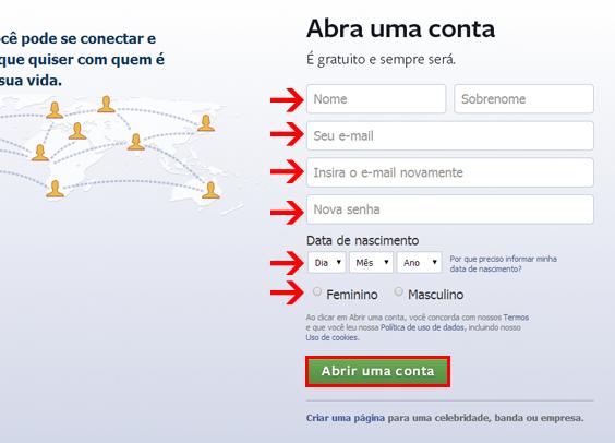 Como Fazer um Facebook em Português