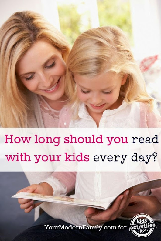 Reading To Your Children