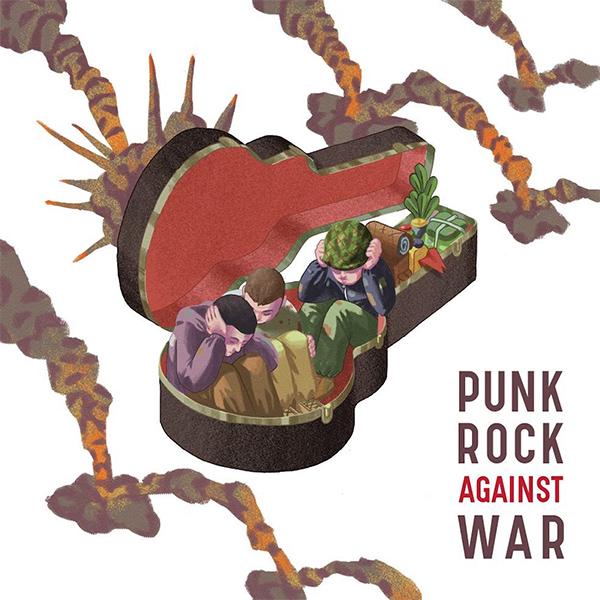 "Inconsapevole Records stream new compilaton ""Punk Rock Against War"""