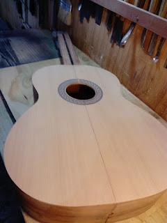 Guitarra clásica de luthier Claudio Rojas - Chile