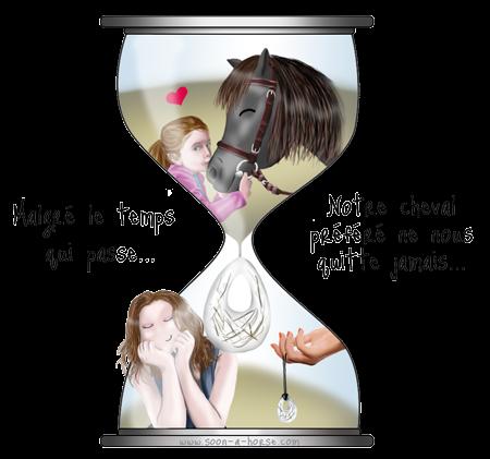 Un bijou immortel pour garder son cheval près de soi