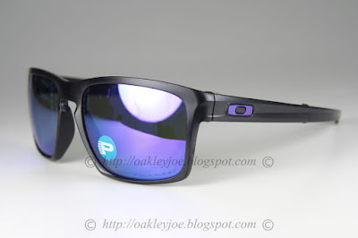 9959913a5e oo9246-07 SliverF matte black + violet iridium polarized  295 foldable  version with metal casing lens pre coated with Oakley hydrophobic nano  solution