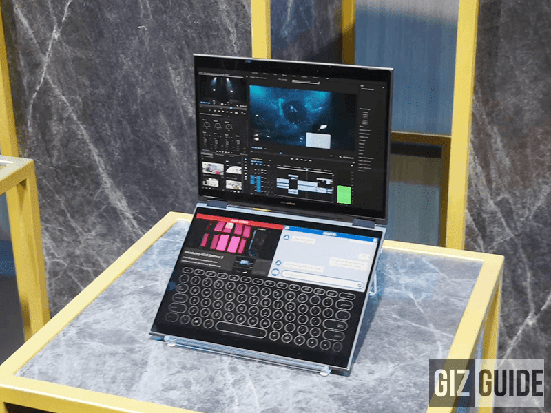 Computex 2018: ASUS announces Project Precog with dual-screen and AI!