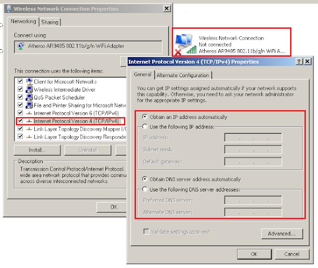 Cara Mengatasi Masalah Konek ke Wifi atau @Wifi.id di Welcome Page