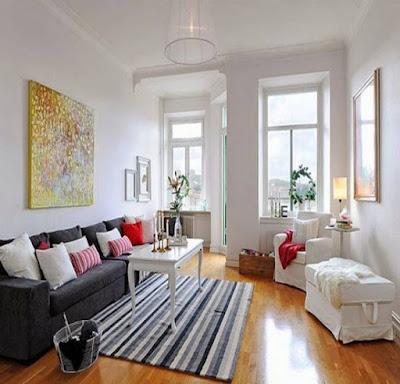 Contoh Foto Desain Interior Ruang Keluarga Minimalis