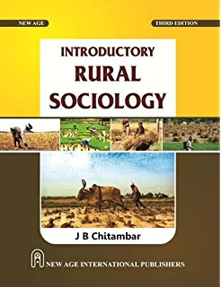 Introductory Rural Sociology JB Chitambar PDF File