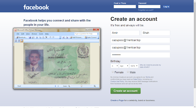 Verify facebook account without phone number