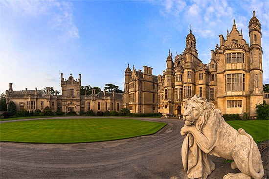 Harlaxton Entrance