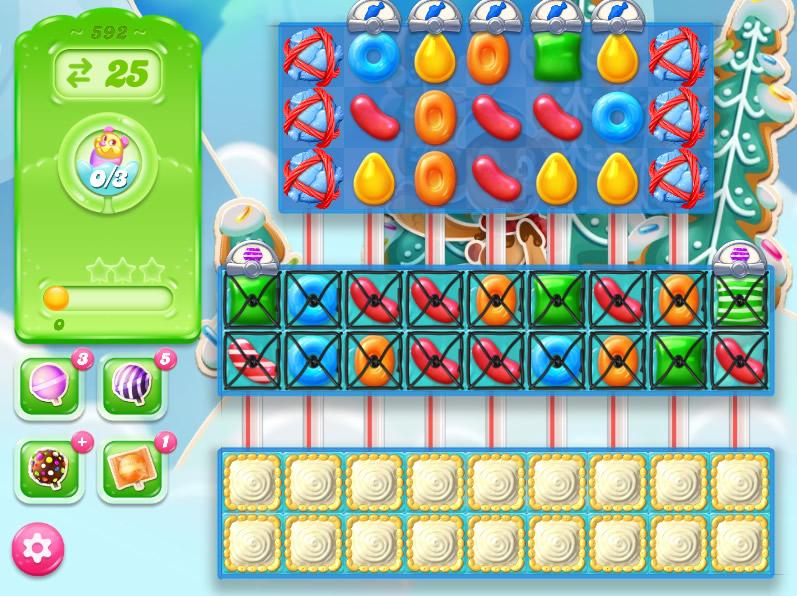 Candy Crush Jelly Saga level 592